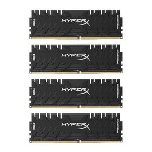 64GB 3333MHz DDR4 RAM Kingston HyperX Predator CL16 (4x16GB) (HX433C16PB3K4/64)