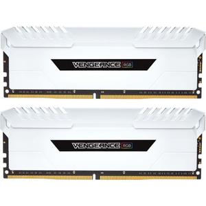 16GB 3600MHz DDR4 RAM Corsair Vengeance RGB CL18 White (2x8GB) (CMR16GX4M2C3600C18W)