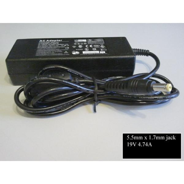 Emachines E525 19V 90W laptop töltő (adapter) utángyártott