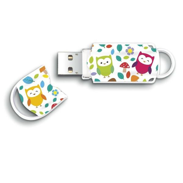 Pen Drive 8GB Integral Xpression USB 2.0 Owls (INFD8GBXPROWLS) 1